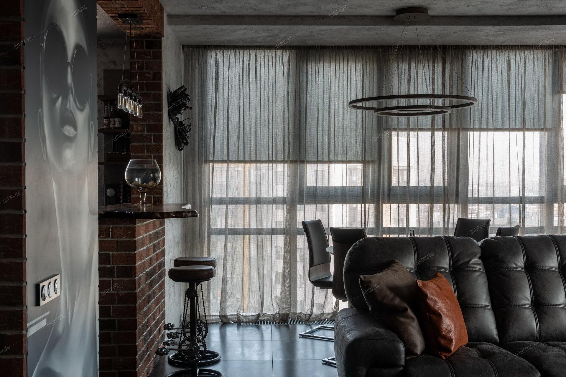 рулонные шторы на электроприводе