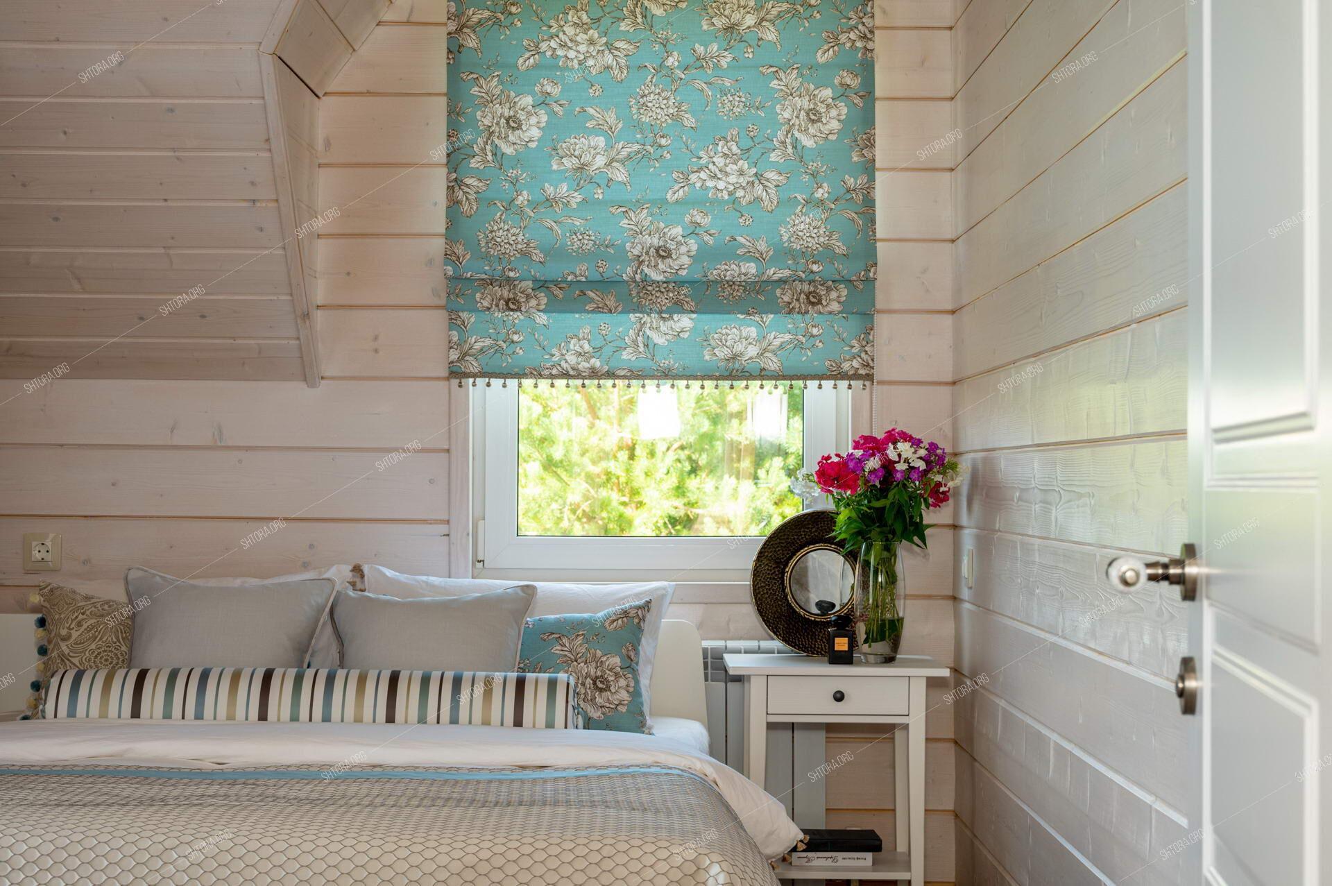 Текстильный декор в спальню