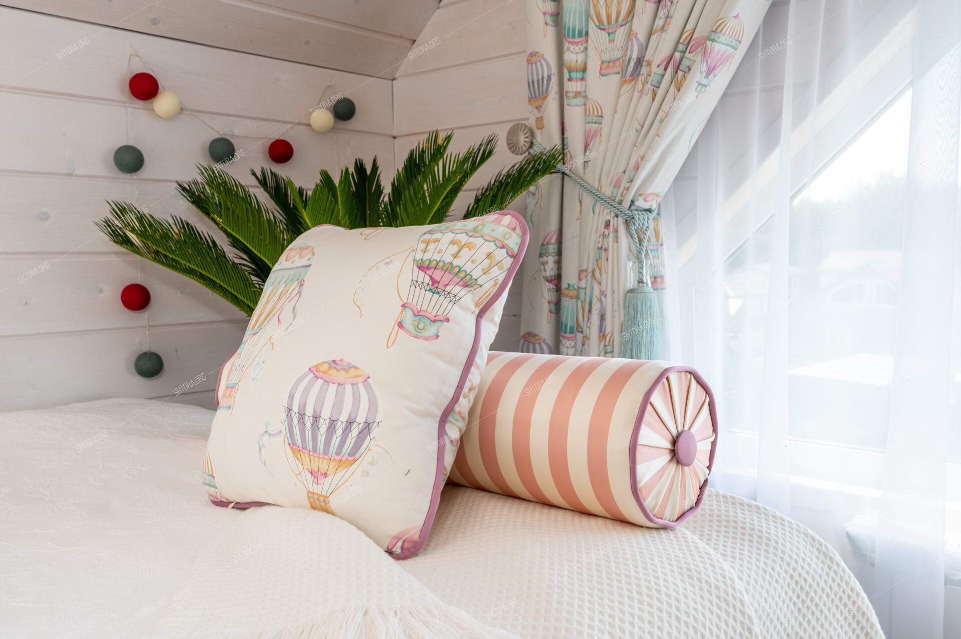 текстиль для детской комнаты девочки